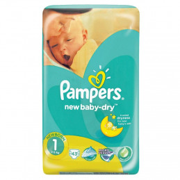 PAMPERS 1 NEW BABY 2-5KG 43B