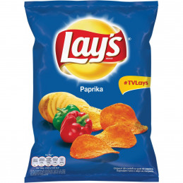 LAYS CHIPS PAPRIKA 155G