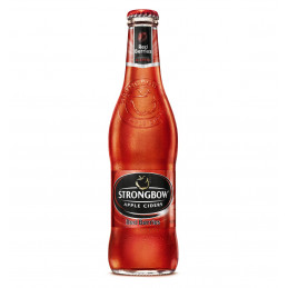 BERE STRONGBOW RED 330ML
